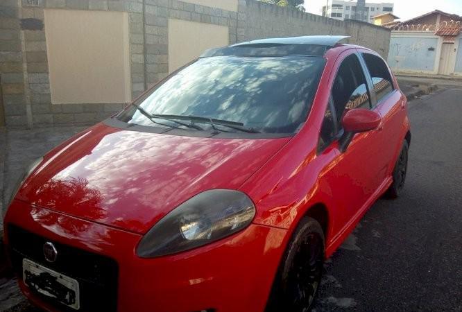 Fiat punto sporting 1.8 ano 2009 flex teto solar banco de