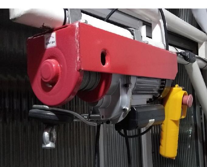 Guincho de coluna elétrico motomil ha105 300600kg 110v