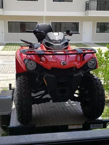 Quadriciclo can-am outlander 570 max 2018