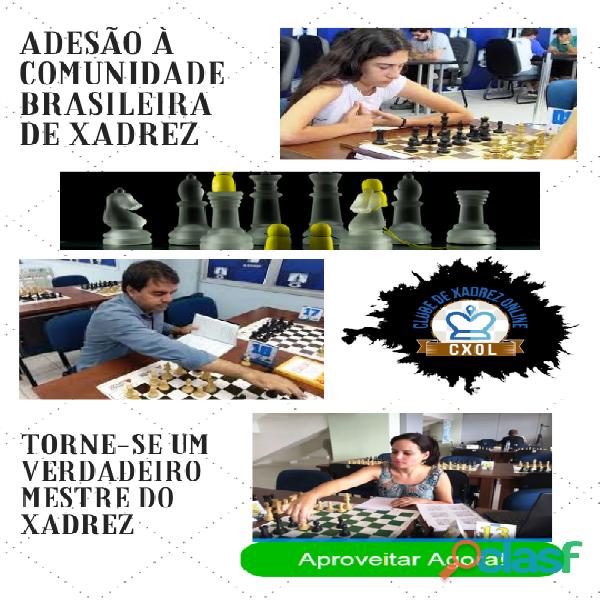 Curso online adesão à comunidade brasileira de xadrez