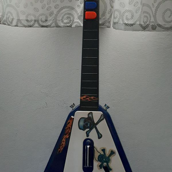 Guitarra/guitar hero/sem fio/ps2