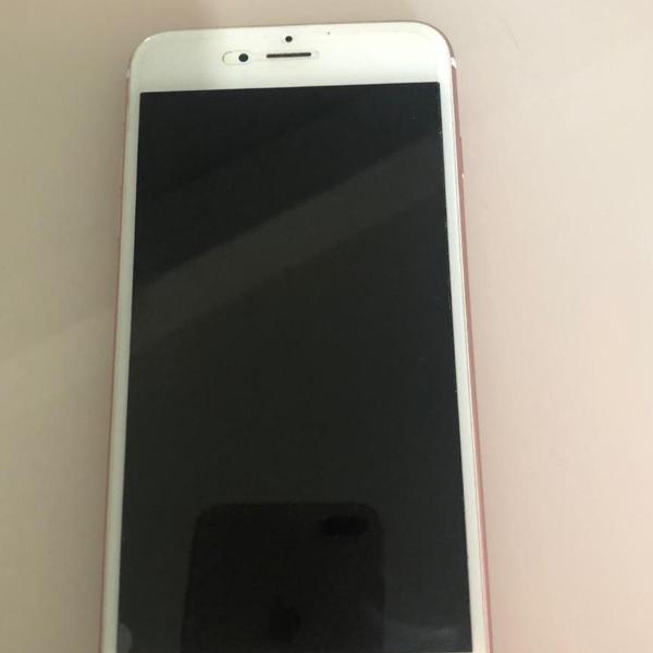 Iphone 6s plus rose gold 128 gb maravilhoso