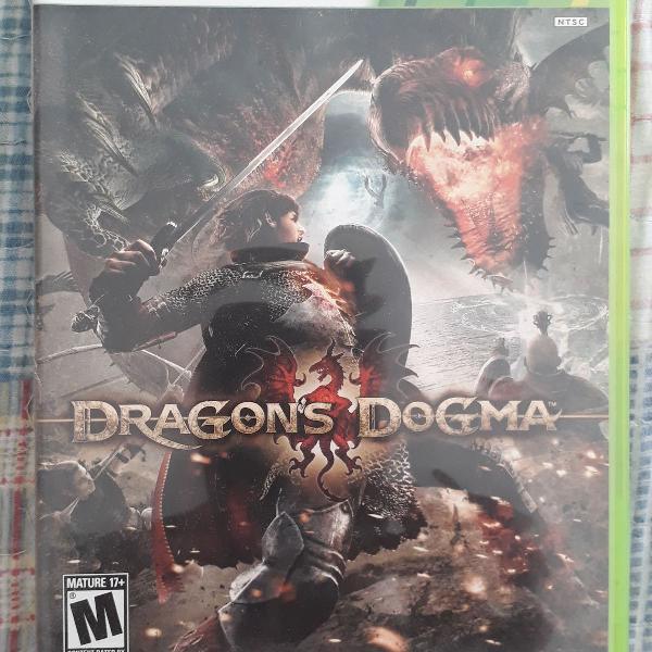 Jogo original xbox 360 dragons dogma .