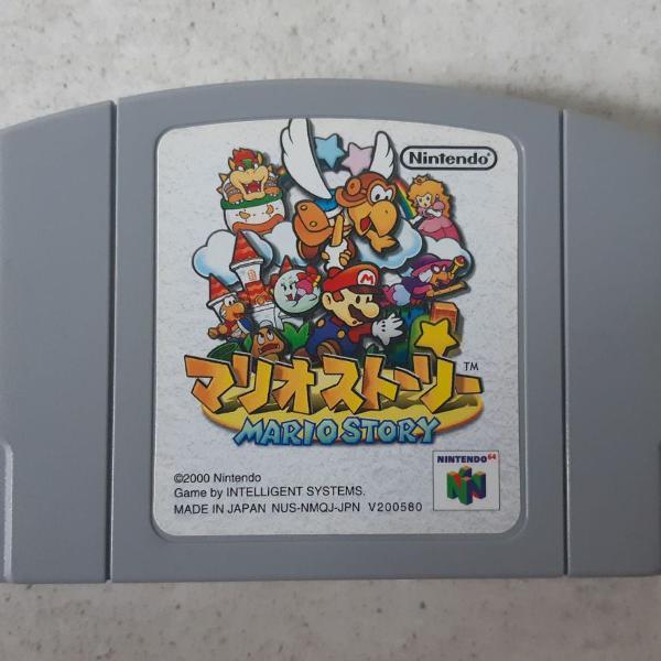 Jogo - paper mario - nintendo 64 - original