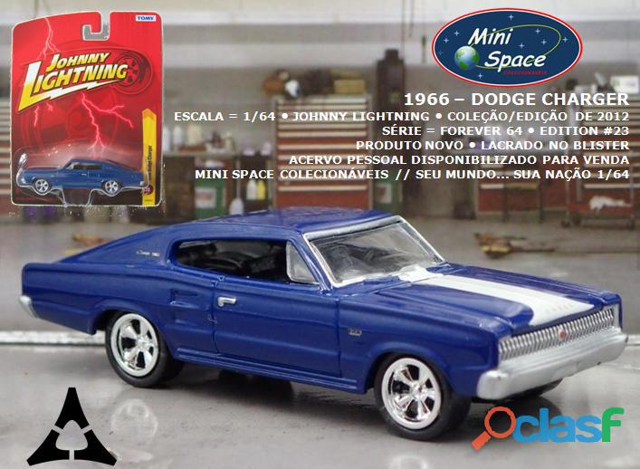Johnny lightning 1966 dodge charger 1/64