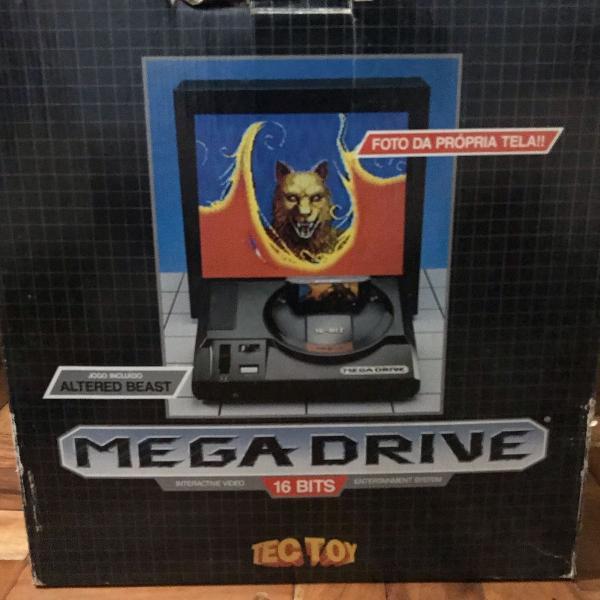Mega drive anos 90 na caixa original