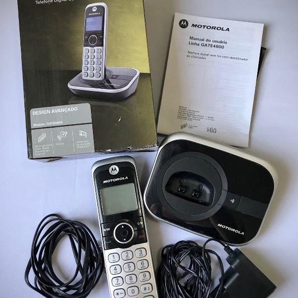 Motorola telefone sem fio modelo gate4800