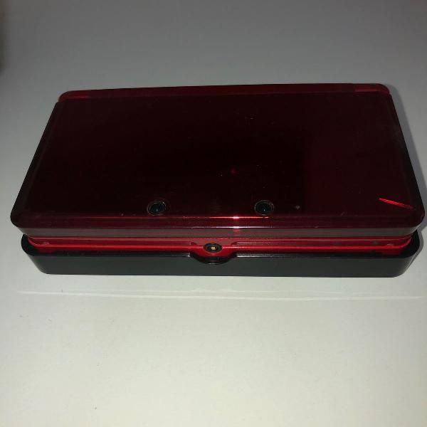 Nintendo 3ds vermelho espelhado