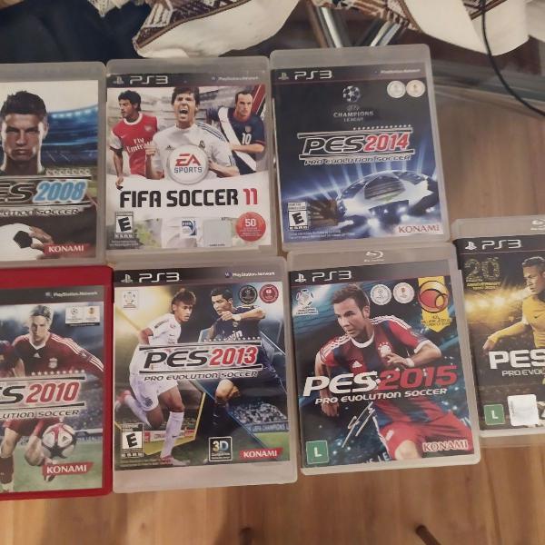 Pro evolution soccer pes ps3 2008 2010 2011 2013 2014 2015