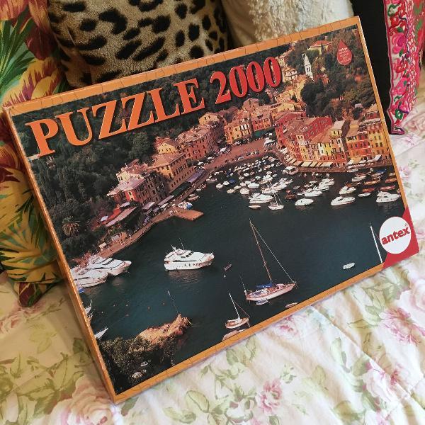 Puzzle 2000 peças - quebra-cabeças - portofino itália