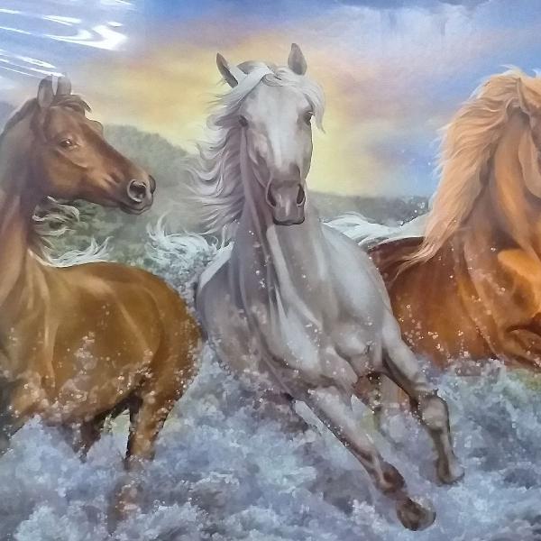 Puzzle grow com 1500peças cavalos selvagens
