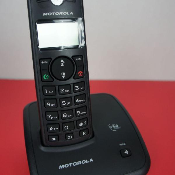 Telefone digital sem fio motorola identificador de chamadas,