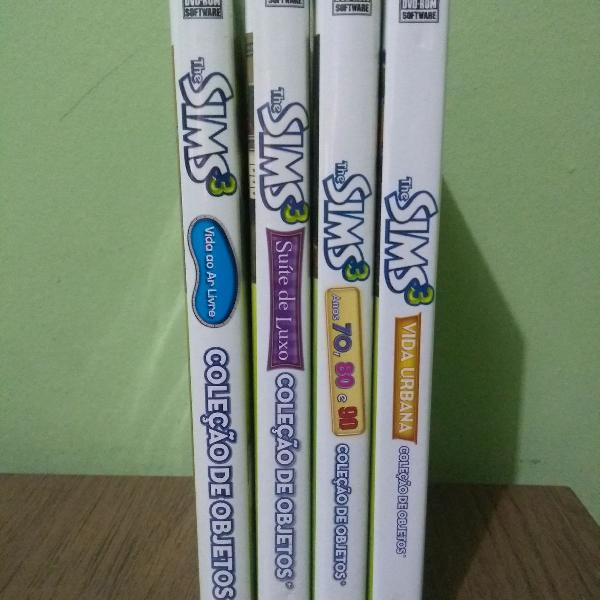 The sims 3 - coleção de objetos