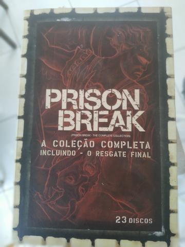 Box série prison break - temporada completa + resgate final