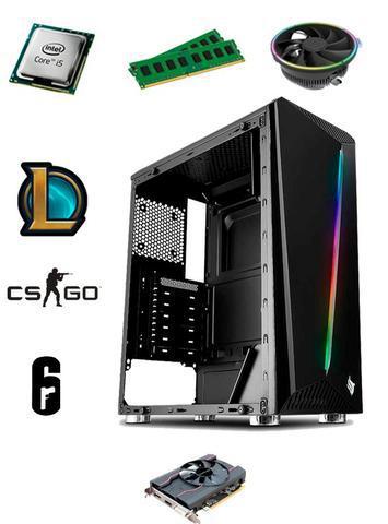Computador gamer rx 550 + i5 3330 + 2x4 ram