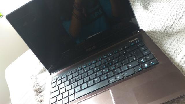 Computador notebook asus, vendo para retirada de peças
