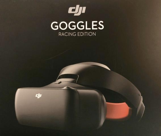Dji goggles racing novo sem uso na caixa anatel!!
