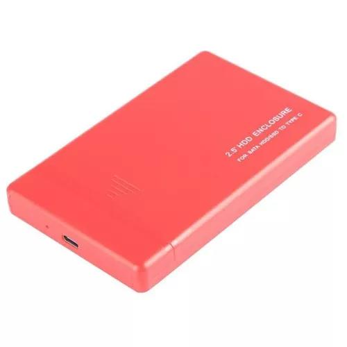 Hdd móvel box de disco de 2,5 polegadas