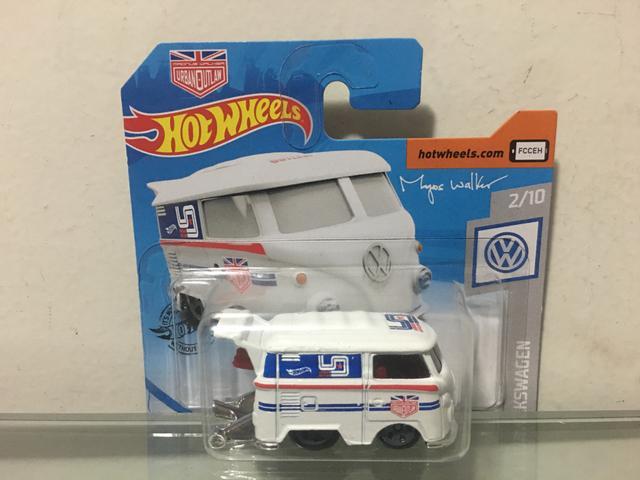 Hot wheels volkswagen kool kombi