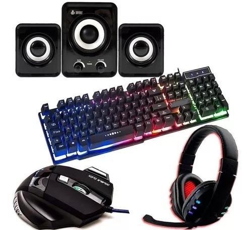 Kit gamer teclado s