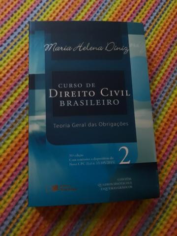 Livro direito civil - maria helena diniz