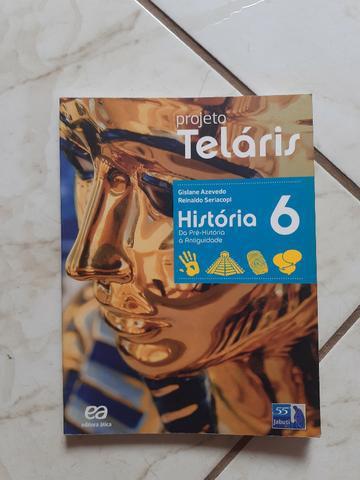 Livro - projeto teláris história 6º ano