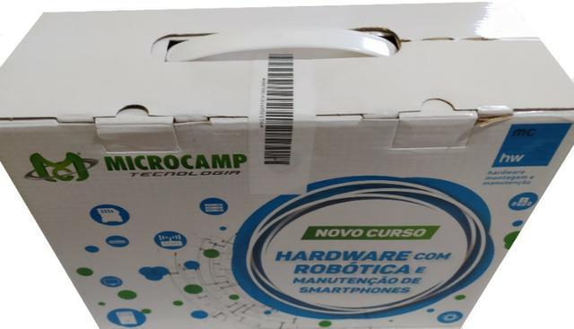 Material completo lacrado, microcamp hardware com robótica!