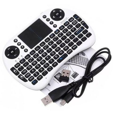 Mini teclado wireless touch pad android pc not