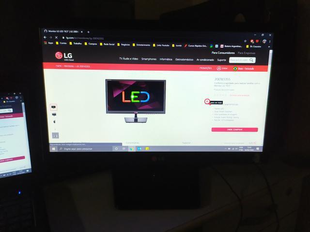Monitor lg led 20en33