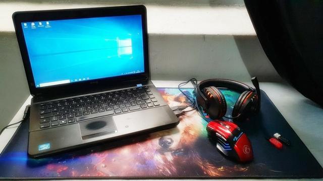 Notebook cce i3 2310m 4gb 500gb + acessórios gamers