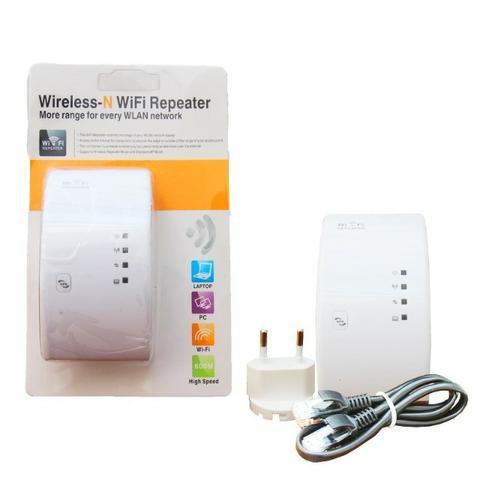 Repetidor de sinal e expansor wi-fi 600mps