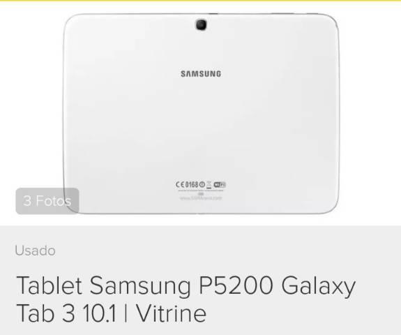 Tablet samsung galaxy tab3 p5200 tela 10.1