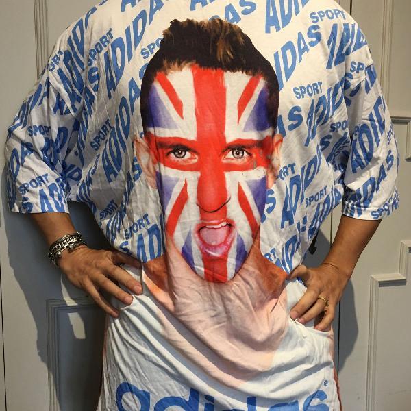 Camiseta adidas by jeremy scott