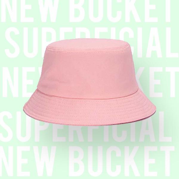 Chapéu bucket rosa bebê