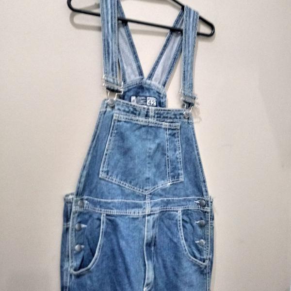 Macacão jeans enzu
