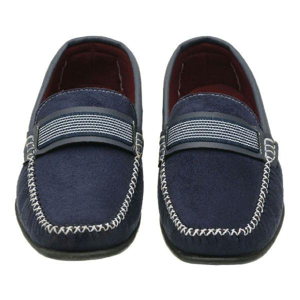 Sapato mocacim azul