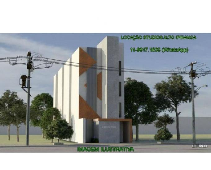 Alto ipiranga locação studios de 20 m² ao lado do metrô