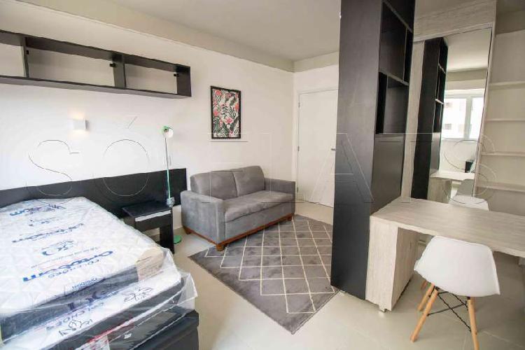 Flat para locação reformado - consolação - residencial