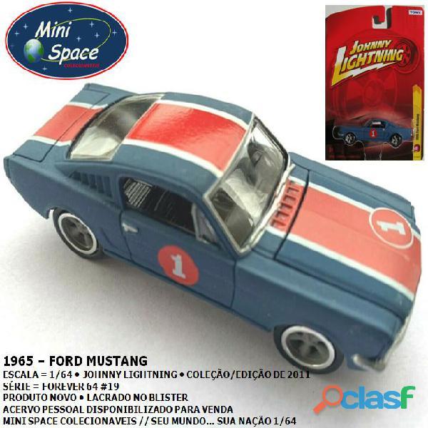 Johnny lightning 1965 ford mustang 1/64