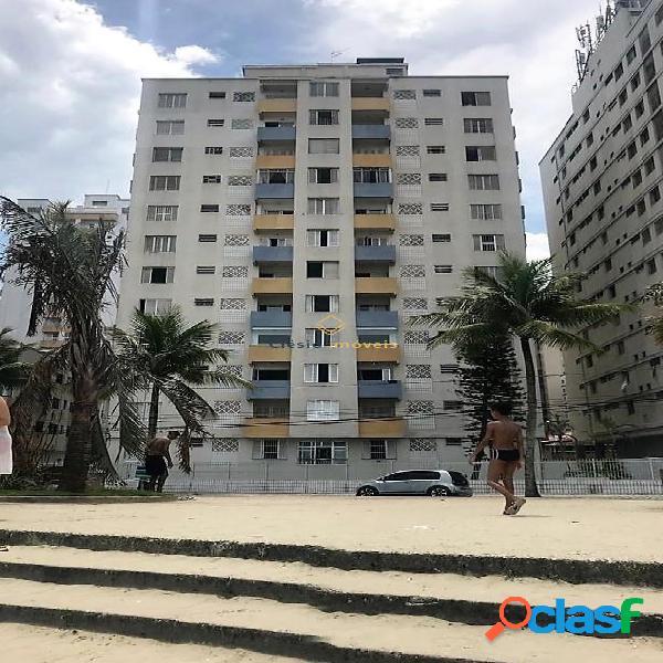 Praia Grande - 02 dormitórios de frente para o mar 1