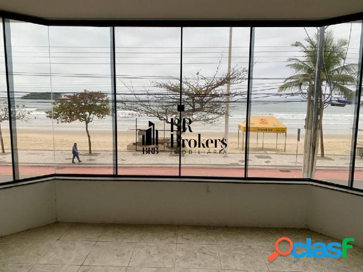 Sala comercial frente mar com 200 m² - aceita permuta