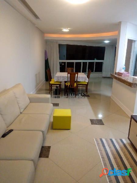 Locação temporada - ed. aquarela - rua brasil, 2 suites, vista mar