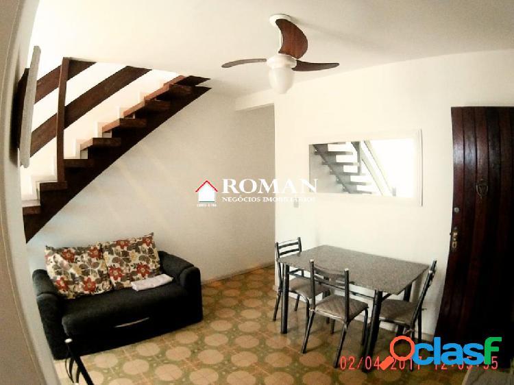 Casa duplex em condomínio no bairro portinho!!