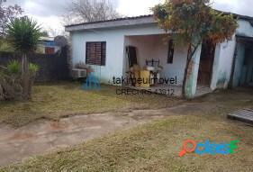Casa com 2 dormitórios à venda, 55 m² por r$ 68.000 umbu - alvorada/rs