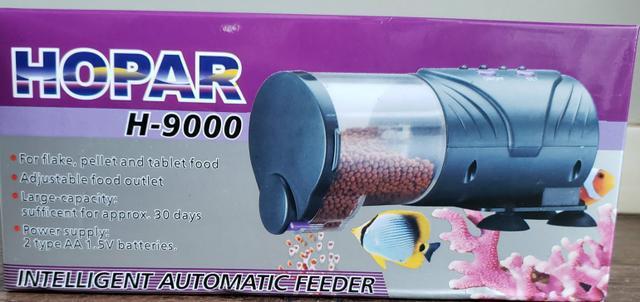 Alimentador automático aquário