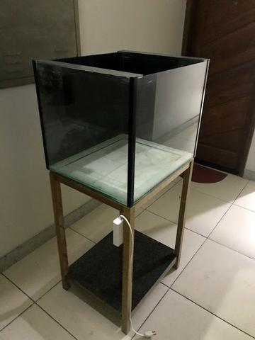Aquario (marinho) - cubo 60x50x50