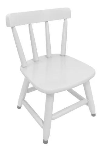 Cadeira country infantil de madeira cadeirinha p/ criança
