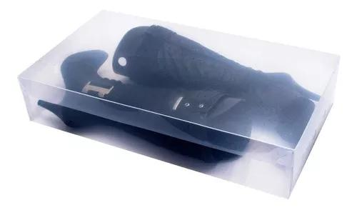 Caixas organizadoras para botas transparente