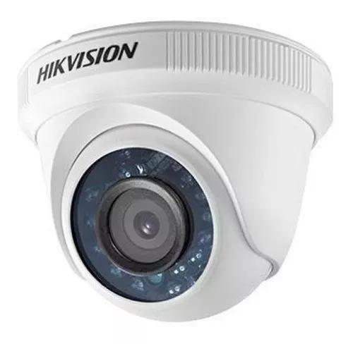 Camera dome ir hikvision lente 2,8mm 1080p fullhd 4