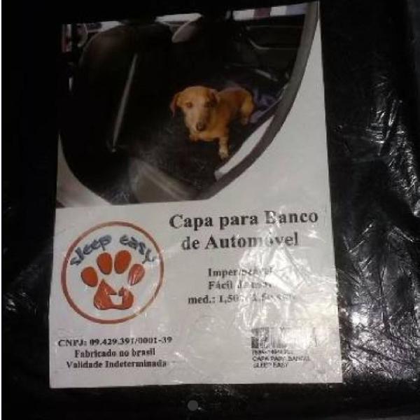 Capa para Automóvel Cachorros Animais Transporte